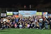 Un tournoi de football des Vietnamiens en Russie