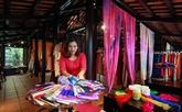 Le 5e Festival de la soie et de la brocatelle du Vietnam et du monde