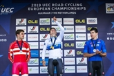 Cyclisme: Evenepoel champion d'Europe du contre-la-montre
