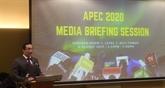 L'APEC 2020 en Malaisie fixera de nouveaux objectifs