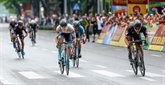 Un cycliste sud-coréen remporte la première étape