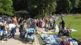 Brocante annuelle au Parc Wolvendael