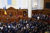 L'Ukraine: une loi sur la destitution du président adoptée par le Parlement