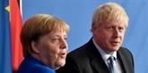 Brexit: Merkel optimiste pour un accord entre le Royaume-Uni et l'UE
