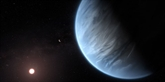 De l'eau découverte autour d'une exoplanète potentiellement habitable