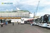 Saigontourist accueille les 4.000 croisiéristes du Voyager of the Seas