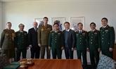 Défense: promouvoir la coopération entre le Vietnam et l'Australie