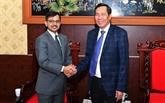 Presse: renforcer la coopération entre le Vietnam et l'Inde