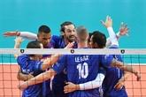 Volley : les Français maîtrisent leur entrée en matière à l'Euro-2019