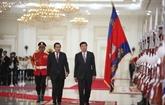 Cambodge et Laos établissent leur partenariat stratégique intégral durable
