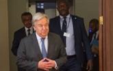 António Guterres aux Bahamas pour exprimer la solidarité des Nations unies