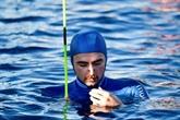 Apnée :Arnaud Jerald, du bronze en toute sérénité à 115 m de profondeur