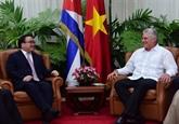 Le Vietnam et Cuba resserrent leurs liens damitié traditionnels