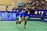 Des étrangers dominent le tournoi international de badminton élargi du Vietnam