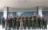 Le Vietnam participe aux exercices de maintien de la paix et de déminage humanitaire