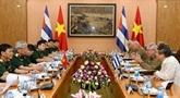 Vietnam - Cuba : 3e Dialogue sur la politique de défense à Hanoï