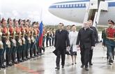 Le Premier ministre chinois arrive en Russie pour une visite officielle