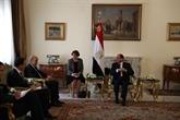 L'Égypte et la France s'engagent à chercher un règlement politique des crises en Libye et en Syrie