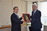 Une délégation du Parti communiste du Vietnam en visite de travail en Grèce