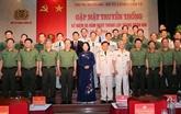 Le régiment 600 - Commandement de la Garde fête son 65e anniversaire