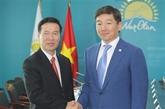Une délégation du PCV en visite de travail au Kazakhstan