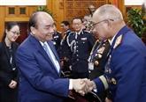 Le Premier ministre reçoit les chefs de délégations participant à l'ASEANAPOL 39