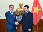 L'ambassadeur du Laos à l'honneur