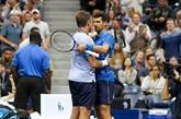 US Open: Djokovic abandonne, Federer lévite, Serena se fait peur