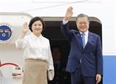Le président sud-coréen entame son voyage en Asie du Sud-Est