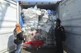 Indonésie renvoie 100 conteneurs de déchets plastiques vers l'Australie