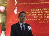 Célébration des 50 ans du Testament de Hô Chi Minh en Égypte 