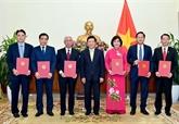 Le chef de l'État nomme six nouveaux ambassadeurs