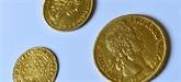 Enchères : prix record pour une monnaie de plaisir royale en or
