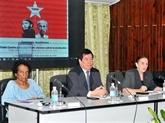 Les visions de Hô Chi Minh et Fidel Castro sur la révolution réaffirmées