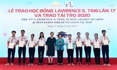Remise des bourses du Fonds Lawrence S. Ting