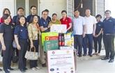 L'ambassade de Thaïlande soutient les habitants de Thai Nguyên touchés par les crues