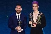 Prix FIFA The Best : Lionel Messi coiffe Virgil Van Dijk