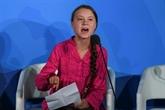 À l'ONU, Greta Thunberg appelle sur le climat