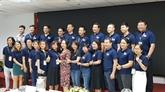 Présentation du club des anciens étudiants vietnamiens à l'étranger de Hô Chi Minh-Ville.