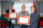Le vice-président de l'AN Phùng Quôc Hiên en visite de travail en Italie