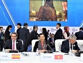 Le Vietnam participe à la MSEAP4 au Kazakhstan