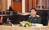 Une délégation militaire du Vietnam en visite au Myanmar