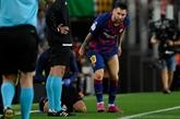 Espagne : le Barça rebondit, frayeur pour Messi