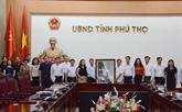 Coopération entre la VNA et Phu Tho dans la communication
