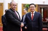 Vietnam - Bélarus : Vuong Dinh Huê s'entretient avec Igor Lyashenko