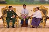 Vietnam et Myanmar renforcent leur coopération dans la défense