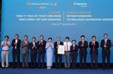 Lancement de la Sarl de techniques et de technologies aéronautiques Vietnam - Singapour