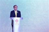 Le Premier ministre thaïlandais appelle l'ASEAN à accélérer l'accomplissement des ODD