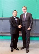 Assemblée nationale : le vice-président Dô Ba Ty en visite de travail en Allemagne