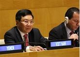 Le vice-PM Pham Binh Minh participe à la réunion ministérielle du G77 à New York